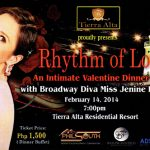 Valentine Dinner Show with Miss Jenine Desiderio